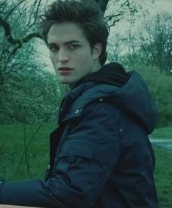 my baby wearing a blue কোট in this still from Twilight<3