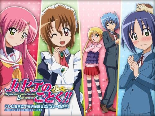 Hayate no Gotoku? (pic.) comedy.. K-on! Azumanga Daioh Fairy Tail Morita-san wa Mukuchi ...um Beelzebub?