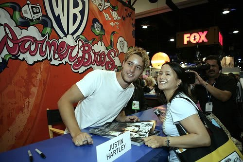 my hottie with a peminat at the Comic Con 2008 <3333