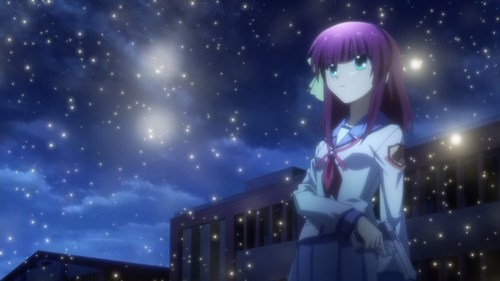 Yuri from Angel beats, she had three sibling, but they were killed T^T