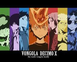 Th Vongola family from Reborn.