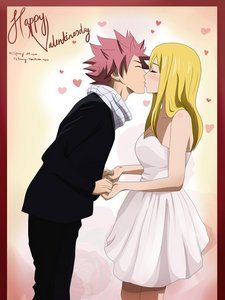 They already been geplaatst but im still gonna post them because I just love this couple sooo MUCH~ >< NALU~!! <33