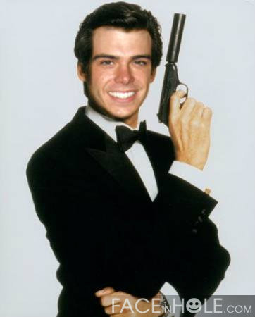 Matthew as James Bond 007. :P