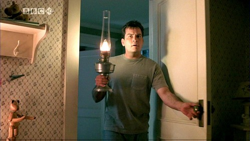 Charlie Sheen as Tom in Scary Movie 3