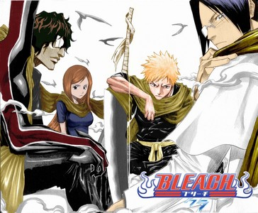 Bleach i like bleach english dubbed version bleach Naruto Shippuden Inuyasha One Piece is an amazing anime but i like sub better than dub.............heh hehe eh