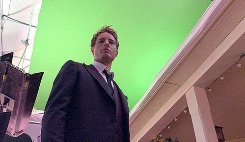 """my hottie on the set of the very last episode of """"Smallville"""" <3333"""