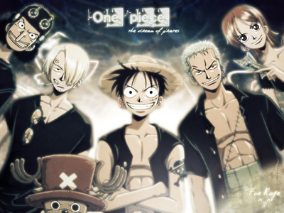 "One Piece im currently watching one piece its an awsome anime abt pirates....its an epic , funny, adventures anime....... its truly a time killer.......soooooo thrilling...it has lots of adventures.......its sooooo funny....there r epic fights..........just one word to describe.......""MIND BLOWING"" anime..........heh he he he"