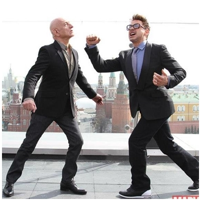 Rob bicker with Ben xD