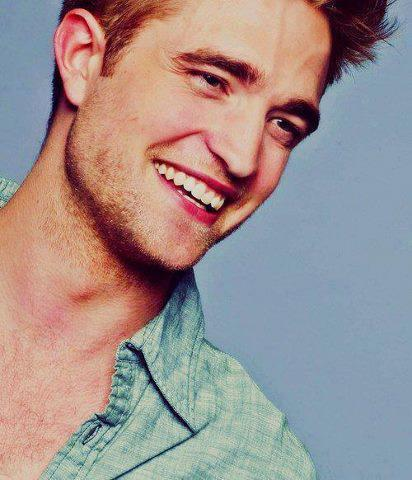 my gorgeous Robert with a very sweet and adorable smile<3