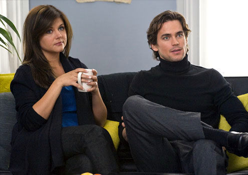 Matt as Neal sitting tiếp theo to Tiffani Thiessen :)