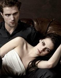 my handsome Robert with his Twilight co-star/companion,Kristen Stewart at their EW photoshoot<3