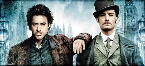 Mr. Sherlock Holmes and his dearest fellow Dr. John Watson