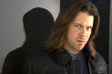 another hottie of mine - Christian Kane (in a promo shoot for Leverage Season 1) <3333