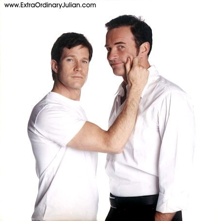 Julian McMahon and co-star Dylan Walsh