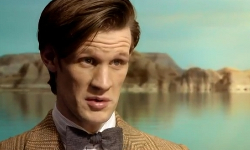 Matt's lovely hair, Yes, I know he shaved his hair for How to catch a Monster, but i grows and I wait for it in Doctor's series 8.