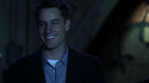 Justin Hartley as Oliver Queen in Smallville