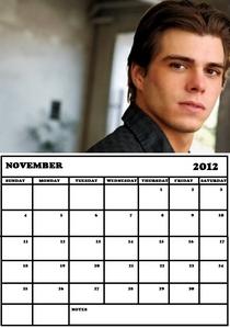 Matthew on a calendar, I created. :)