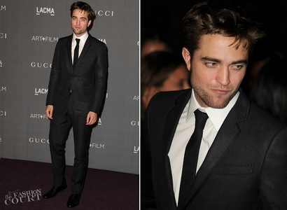 my gorgeous Robert in a black suit,which fits him like a glove<3