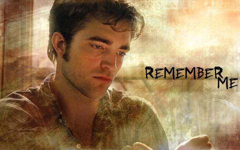 my gorgeous Robert,as the main character in Remember Me(like I could never forget you,baby)<3