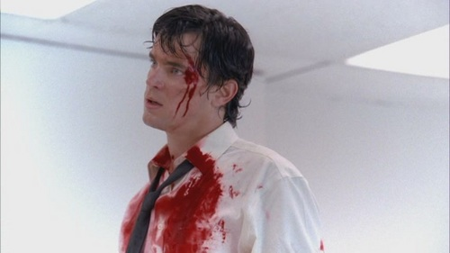 Matt Bomer as Bryce Larkin in Chuck :)