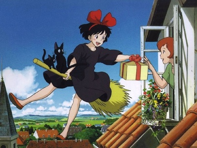 My mom likes Kikis delivery service so I guess she likes Kiki