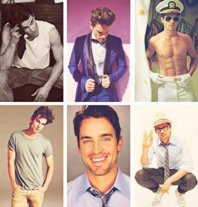 Six pictures of sexy Matt Bomer :)