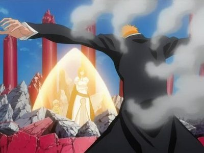 When Ichigo risks his life to save Nel and Orihime <3