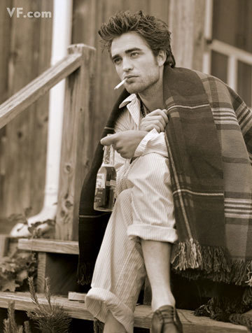 my gorgeous baby holding a bier bottle in this pic from his VF photoshoot<3