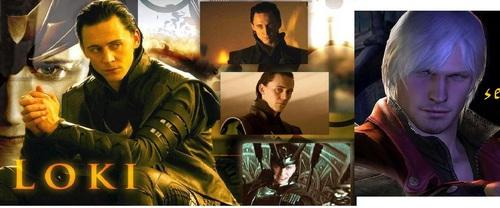 dante sparda from devil may cry 4 Loki tom hiddeton werewolfs 80s hair bands