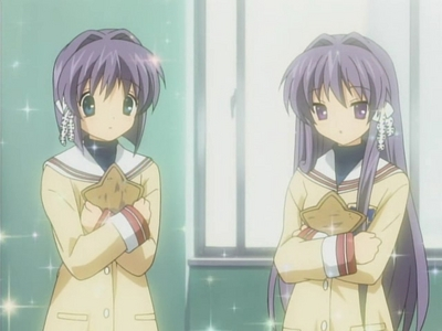 Kyou and Ryou from Clannad