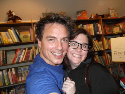 John Barrowman with a fan ;)