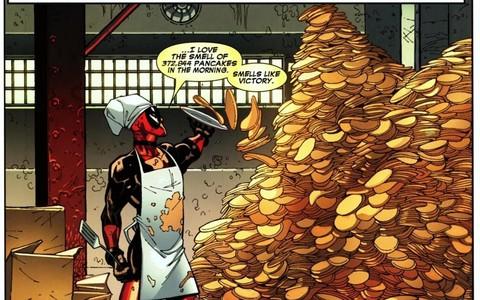 Iron Man Thor Hawkeye And I like Deadpool,too. :D