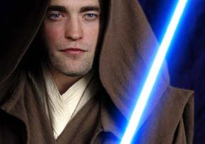 may the force be with you,Rob(i)-Wan Pattinson<3