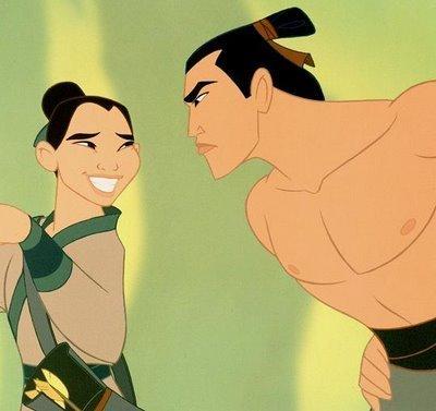 That's from Mulan. হাঃ হাঃ হাঃ
