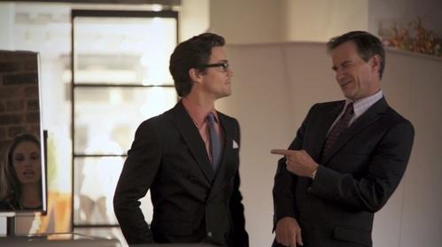 Matt Bomer & Tim DeKAY in White Collar, Season 2.