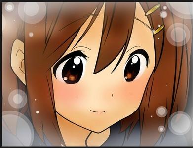yui hirasawa from k - on !!!!!