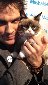Ian with a sweetie cutie