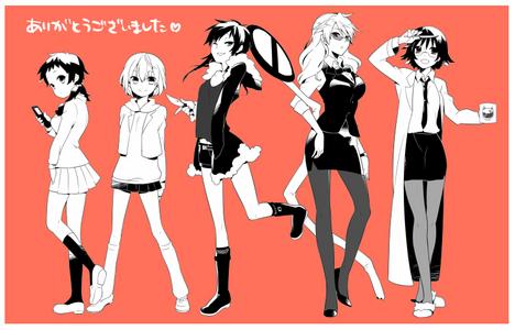 I don't really have a fave character so i'll just post Durarara! ^_^
