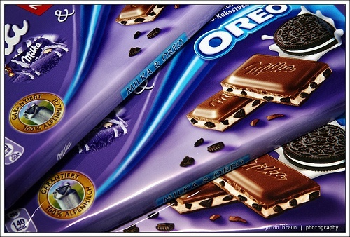 Milka with Oreo 쿠키 Yum x OVER 9000