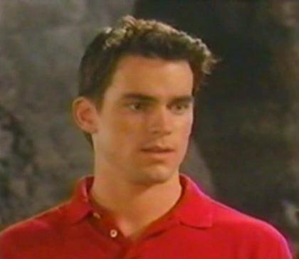 Matt Bomer from when he was in Guiding Light and boy has he aged well, like a fine wine, perfectly aged :)