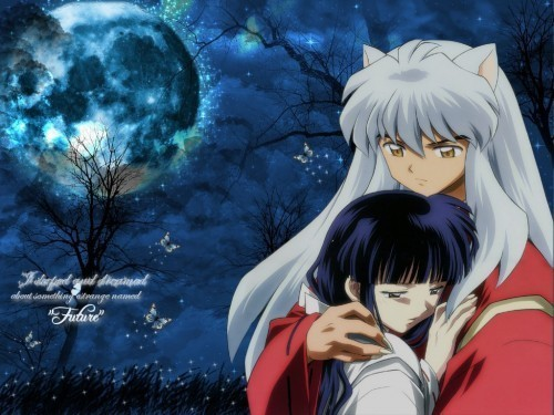 "I like Kikyo better. She's better for Inuyasha, Kikyo said it the best to Keide ""Had I lived, it would have been me to heal his heart."" 