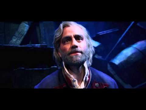 Jean Valjean (Les Miserables) because he's selfless and clever so he'd be able to figure out a way for both of us to survive.