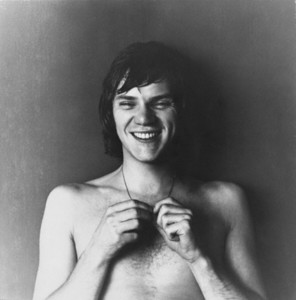 A very young Malcolm McDowell (in his late 20's/ early 30's).