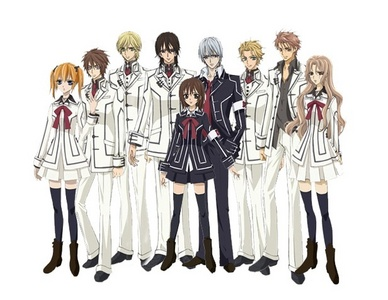 I'm interested with anything to do with vampire especially Vampire Knight!! I'm addicted!!!!