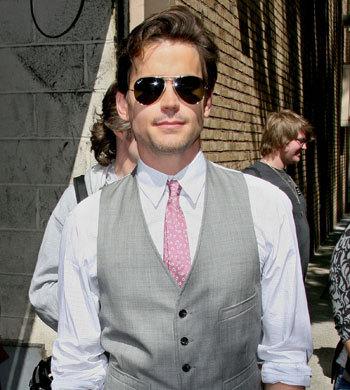 Matt Bomer looking sassy in sunglasses