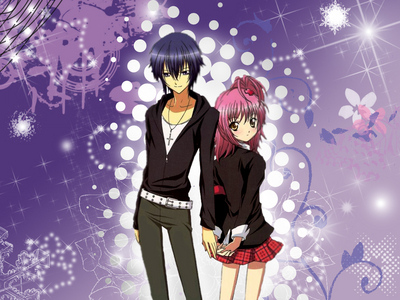 The anime is called 'Shugo Chara' where Ikuto is in.