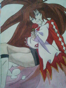 So this is my drawing of Alice from Pandora Hearts ~<3 Hope toi guys like it!