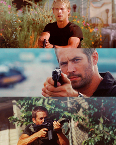 my American hottie,Paul Walker as undercover policeman,Brian O'Connor,who goes undercover to bring down Dominic Tareto(played 의해 Vin Diesel)<3