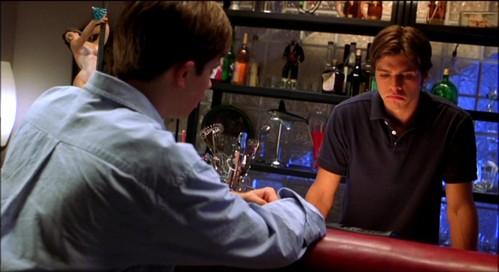 Matthew at a bar but not sitting. :)