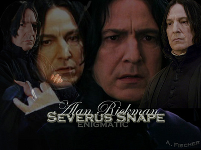 "AND THE OSCAR GOES TO........ ..........................ALAN RICKMAN !!!!! ""HARRY POTTER AND THE DEATHLY HALLOWS 2"" :)"